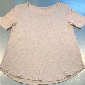 Blush pink H&M t shirt